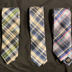 Bundle of 3 Designer Men's Ties